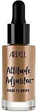 Voňavky, Parfémy, kozmetika Tekutý zvýrazňovač na tvár - Ardell Attitude Adjustor Shade FX Drops