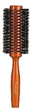Voňavky, Parfémy, kozmetika Okrúhla kefa na vlasy 9879, s prírodnými štetinami 28/58 mm - Donegal