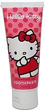 Voňavky, Parfémy, kozmetika Detská zubná pasta s jahodovou príchuťou - VitalCare Hello Kitty