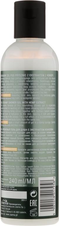 Hydratačný sprchový gél - Joanna Botanicals For Home Spa Cannabis Seed Shower Gel — Obrázky N2