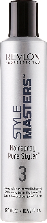 Lak na vlasy silná fixácia bez aerosólu - Revlon Professional Style Masters Hairspray Pure Styler 3