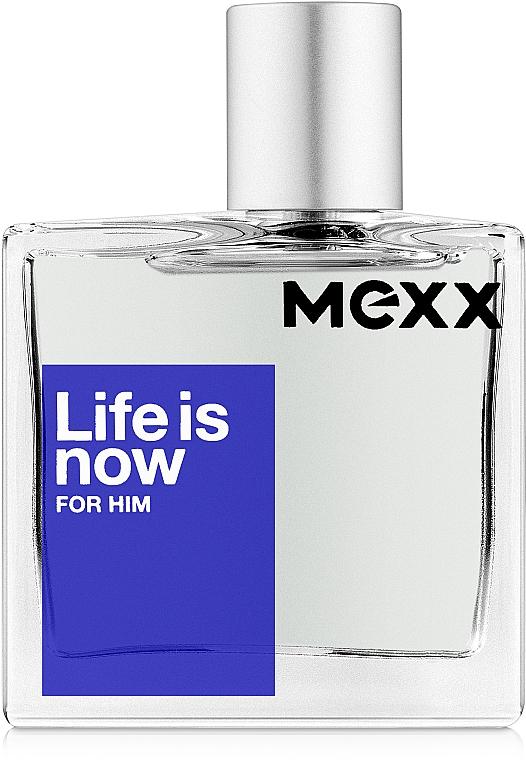 Mexx Life is Now for Him - Toaletná voda