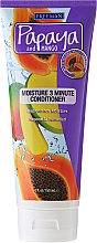 Voňavky, Parfémy, kozmetika Zvlhčujúci kondicionér pre vlasy - Freeman Papaya and Mango Moisture 3 Minute Conditioner