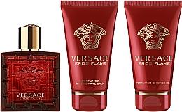 Voňavky, Parfémy, kozmetika Versace Eros Flame - Sada (edp/50ml + sh/gel/50ml + ash/balm/50ml)