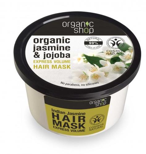 "Maska na vlasy ""Indický jasmín"" - Organic Shop Organic Jasmine and Jojoba Hair Mask"