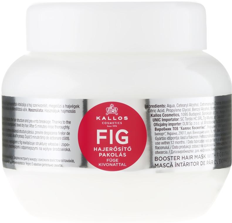 Vlasová maska s komplexom vitamínov - Kallos Cosmetics FIG Booster Hair Mask With Fig Extract
