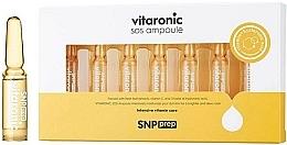 Voňavky, Parfémy, kozmetika Rozjasňujúce ampulky na tvár - SNP Prep Vitaronic SOS Ampoule