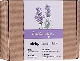 Voňavky, Parfémy, kozmetika Sada - Biolaven Lavender Relief (ser/30ml + eye/cr/15ml + hydrolat/100ml + pouch/30g)
