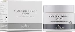 Voňavky, Parfémy, kozmetika Výživný krém s kolagénom a mucínom z čierneho slimáka - The Skin House Black Snail Wrinkle Cream