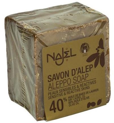 Mydlo - Najel 40% Aleppo Soap — Obrázky N1
