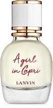 Voňavky, Parfémy, kozmetika Lanvin A Girl in Capri - Toaletná voda