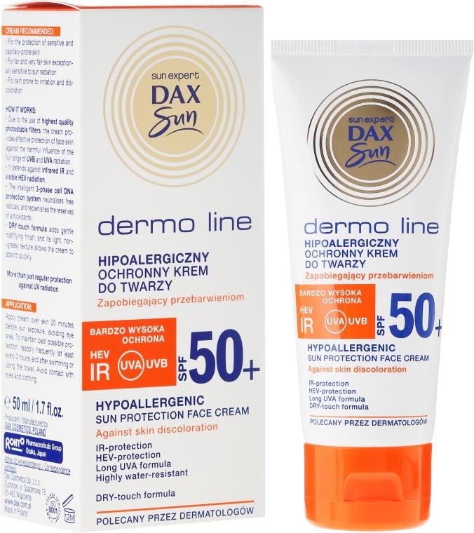 Hypoalergénny krém na tvár - DAX Sun Dermo Line Face Cream SPF 50 — Obrázky N1