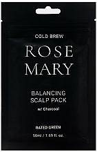 Voňavky, Parfémy, kozmetika Regeneračná maska na pokožku hlavy s rozmarínovou šťavou - Rated Green Cold Brew Rosemary Balancing Scalp Pack
