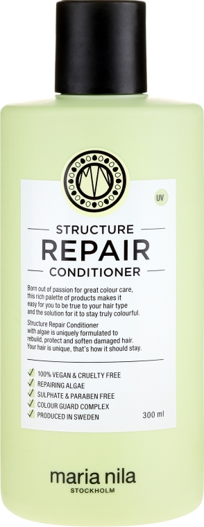 Kondicionér pre suché a poškodené vlasy - Maria Nila Structure Repair Conditioner — Obrázky N3