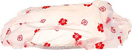 Voňavky, Parfémy, kozmetika Sprchová čiapka, červené kvety 30369 - Top Choice