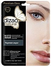 """Voňavky, Parfémy, kozmetika Boto-maska na tvár, krk a očné viečka """"Čierny kaviár"""" - Dizao Natural"""