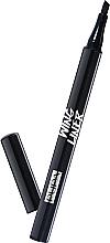 Voňavky, Parfémy, kozmetika Očné linky-pero skoseným hrotom - Pupa Wing Liner