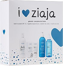 Voňavky, Parfémy, kozmetika Sada - Ziaja GdanSkin (cr/50ml + spray/200ml + balm/300ml + soap/300ml)