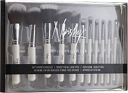Voňavky, Parfémy, kozmetika Súprava štetcov - Nanshy Masterful Collection Pearlescent White (Brush/12ks)