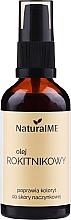 Voňavky, Parfémy, kozmetika Rakytníkový olej, s dávkovačom - NaturalME