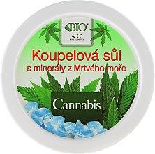 Voňavky, Parfémy, kozmetika Soľ do kúpeľa - Bione Cosmetics Cannabis Bath Salt with Dead Sea Minerals