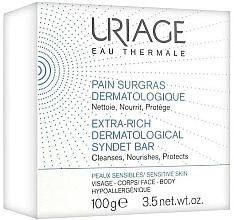 Voňavky, Parfémy, kozmetika Jemné dermatologické mydlo na tvár a telo - Uriage Pain Surgras Dermatological