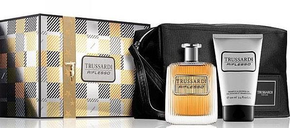 Trussardi Riflesso - Sada (edt/100ml + sh/g/100ml + bag)