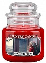 Voňavky, Parfémy, kozmetika Vonná sviečka v pohári - Country Candle Twas The Night