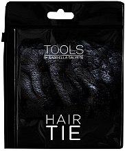 Voňavky, Parfémy, kozmetika Guma na vlasy, velúrová, čierna - Gabriella Salvete Hair Tie