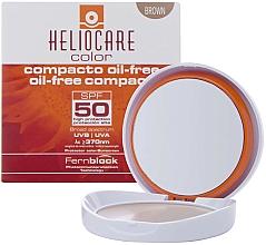 Voňavky, Parfémy, kozmetika Kompaktný krémový púder pre mastnú a kombinovanú pleť - Cantabria Labs Heliocare Color Compact Oil-Free Spf 50