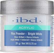 Voňavky, Parfémy, kozmetika Akrylový púder, žiarivo-biela - IBD Flex Powder Bright White