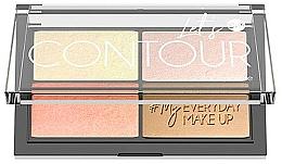 Voňavky, Parfémy, kozmetika Kontúrovacia paleta na tvár - Bell Let's Contour Face Palette