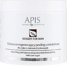 Voňavky, Parfémy, kozmetika Telový peeling - APIS Professional Dessert For Skin Nourishing And Regenerating Chocolate Body Peeling