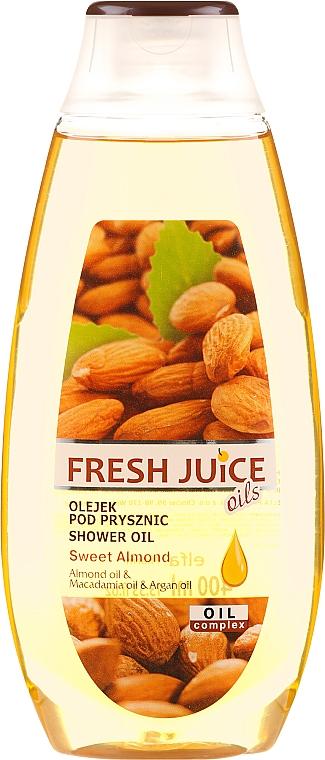 """Sprchový olej """"Sladká mandľa"""" - Fresh Juice Shower Oil Sweet Almond"""