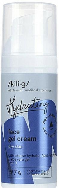 Intenzívny hydratačný gél-krém pre suchú pokožku - Kili-g Hydrating Face Gel Cream — Obrázky N2