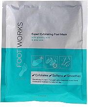 """Voňavky, Parfémy, kozmetika Exfoliačná maska na nohy """"Ponožky"""" s kyselinou glykolovou a aloe vera - Avon Foot Works"""