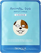 """Voňavky, Parfémy, kozmetika Látková maska na tvár vo zvieracom štýle """"Pes"""" - Bioaqua Animal Dog Addict Mask"""