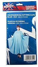 Voňavky, Parfémy, kozmetika Kadernícky plášť, modrý - Ronney Professional Cutting Cape
