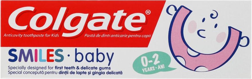 Zubná pasta pre deti 0-2 roky - Colgate Smiles Baby 0-2 Toothpaste — Obrázky N1
