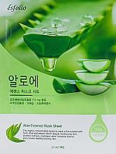 "Voňavky, Parfémy, kozmetika Textilná maska ""Extrakt z aloe vera"" - Esfolio Aloe Essence Mask Sheet"