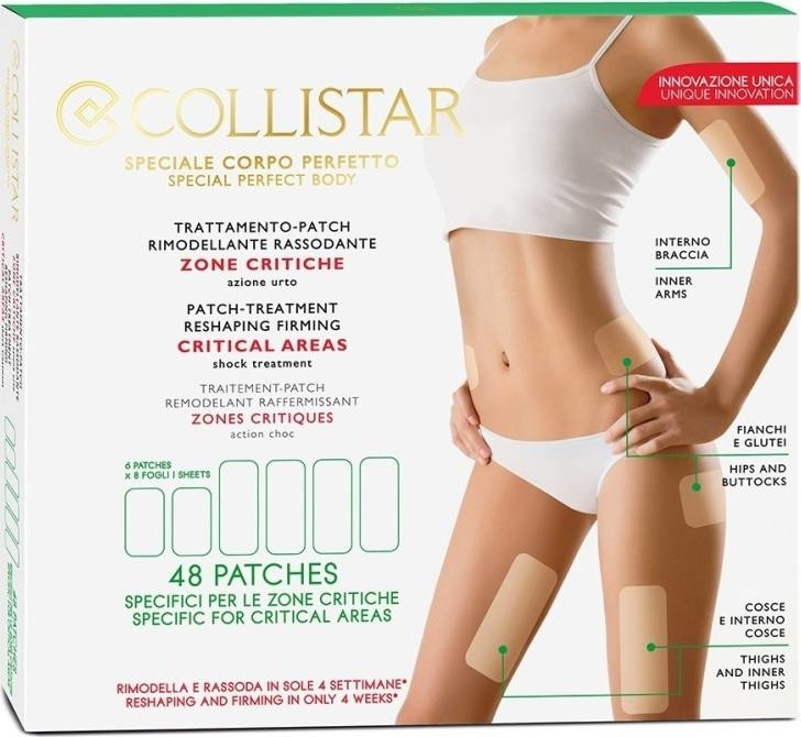 Náplasti na telo - Collistar Speciale Corpo Perfetto Patch-Treatment Reshaping Firming Critical Areas