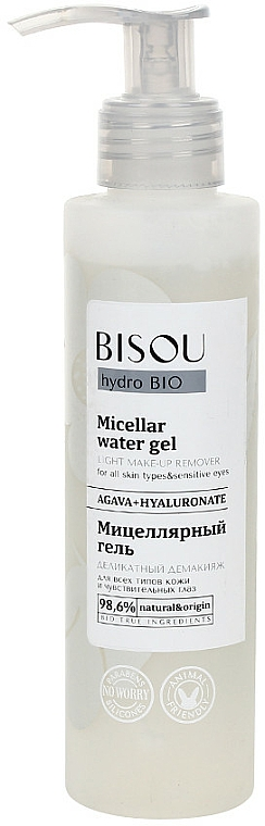 Micelárny gél - Bisou Hydro Bio Micellar Water Gel