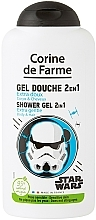 Voňavky, Parfémy, kozmetika Šampón a sprchový gél 2 v 1 pre chlapčeka - Corine de Farme Star Wars Force
