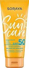 Voňavky, Parfémy, kozmetika Hydratačný balzam s SPF ochranou - Soraya Sun Care Waterproof Balm SPF50