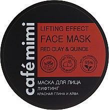 """Voňavky, Parfémy, kozmetika Maska na tvár """"Lifting"""" - Cafe Mimi Deep Lifting Effect Face Mask"""