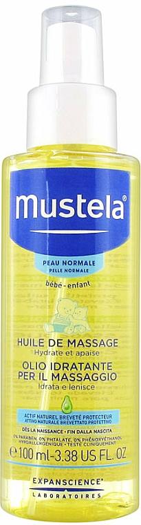 Masážny olej pre telo - Mustela Bebe Massage Oil