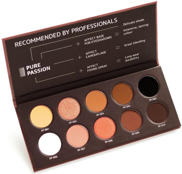 Paleta očných tieňov - Affect Cosmetics Pure Passion Eyeshadow Palette