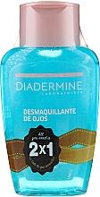 Voňavky, Parfémy, kozmetika Sada - Diadermine ( eye/makeup/remover/2x125ml)