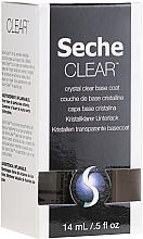 Voňavky, Parfémy, kozmetika Transparentné základné krytie - Seche Vite Clear Crystal Base Coat