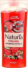 """Voňavky, Parfémy, kozmetika Sprchový peeling jemnozrnný """"Jahoda"""" - Joanna Naturia Peeling"""
